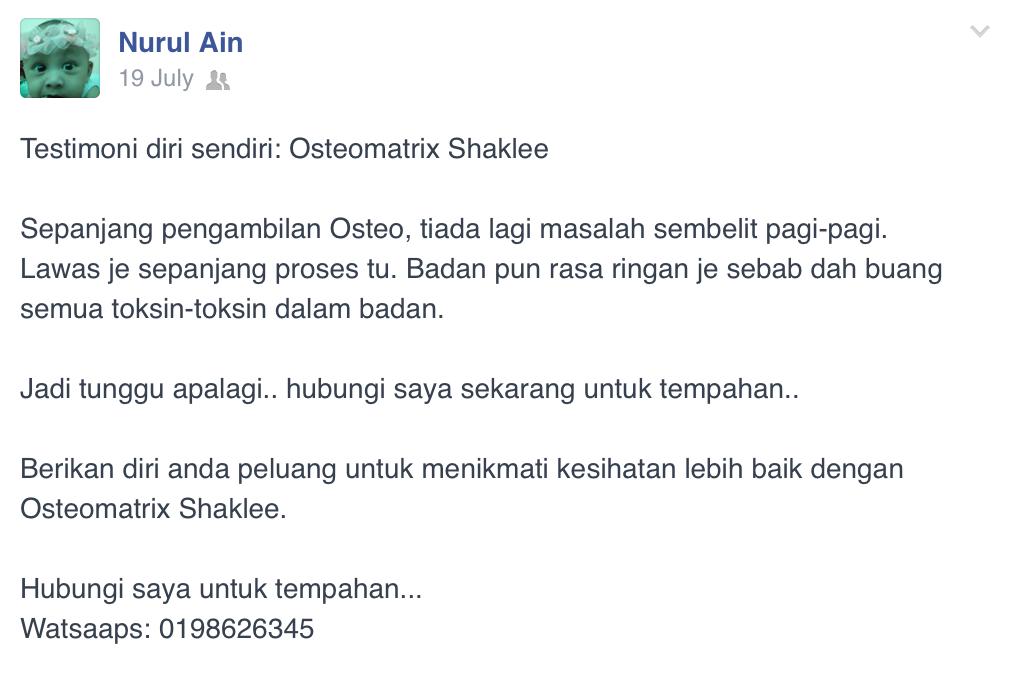 Shaklee Borneo