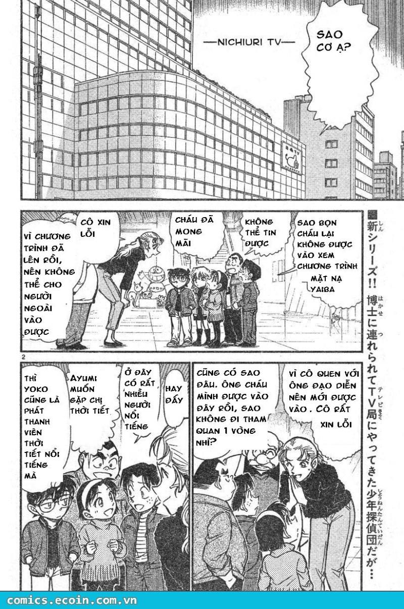 Detective Conan - Thám Tử Lừng Danh Conan chap 591 page 2 - IZTruyenTranh.com