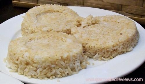Longganisa Sorpresa garlic rice