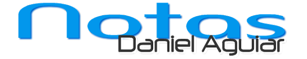 Notas do Daniel Aguiar