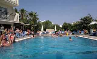 Hotell Pavlinia Pool Area Ayia Napa