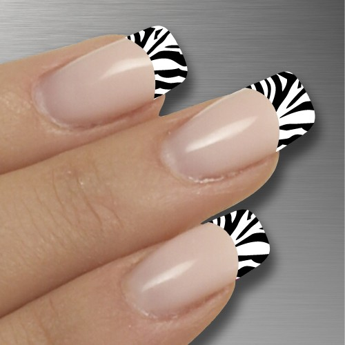 The Appealing Black and white nail designs Photograph