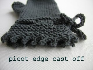 http://handknittedthings.blogspot.co.uk/2010/08/picot-edge-cast-off.html