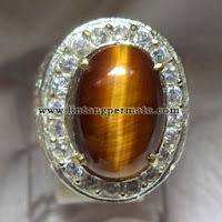 Batu Permata Natural Tiger Eye