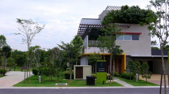 New home designs latest malaysian modern home designs for House design malaysia architecture