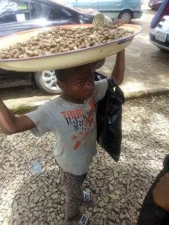 """""""I Still Want To Go To School"""" — 9 Year Old Groundnut Hawker Says"""