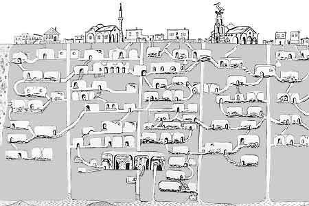 K čemu Sloužilo Stonehenge Turecko: K čemu sloužilo obrovské podzemní město Derinkuyu pro 20 ...