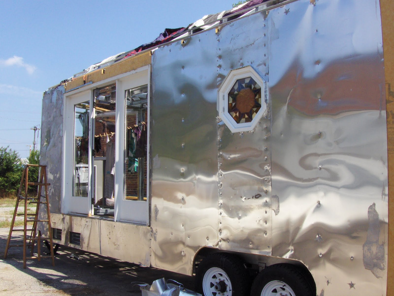 Building A Home Made Solar Powered Travel Trailer From The Ground Up Starting On The Exterior