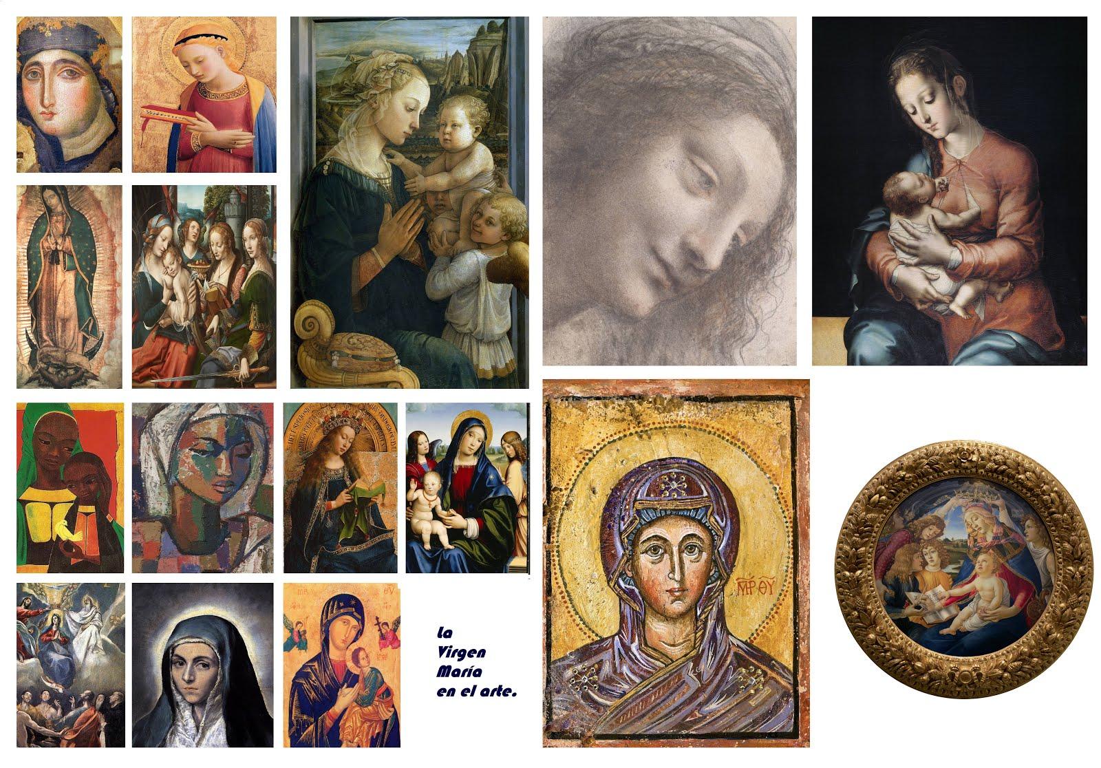 16 lindas imágenes de la Virgen María en el arte.