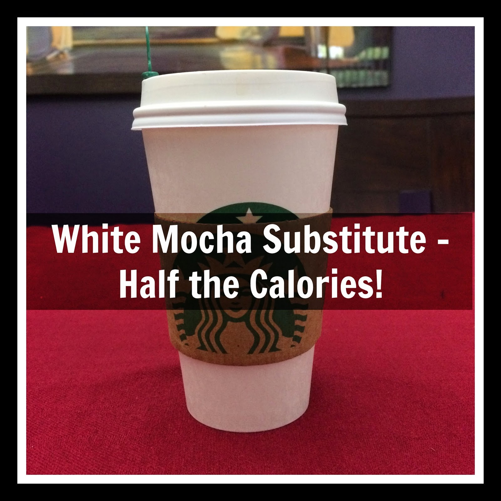 white mocha alternative substitute