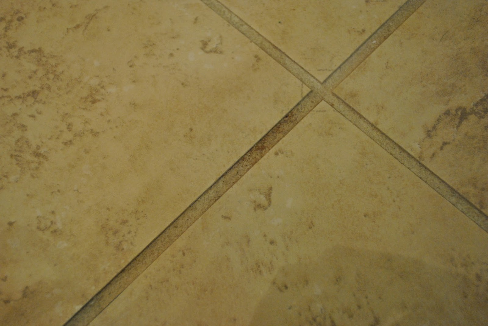 school tile floor texture. Gross, Right?! No Amount Of Bleach Or Skin-dissolving Grout Cleaner Would Fix It. Sigh. I Decided To Roll Up My Sleeves And Re-grout Kitchen Floor. School Tile Floor Texture
