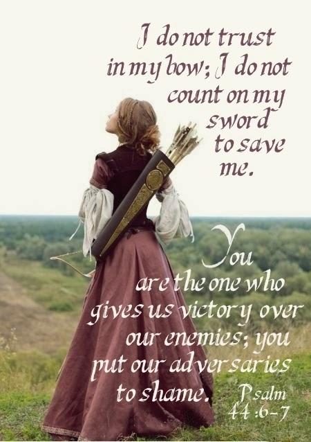 Psalm 44:6-7