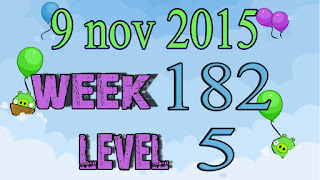 Angry Birds Friends Tournament level 5 Week 182