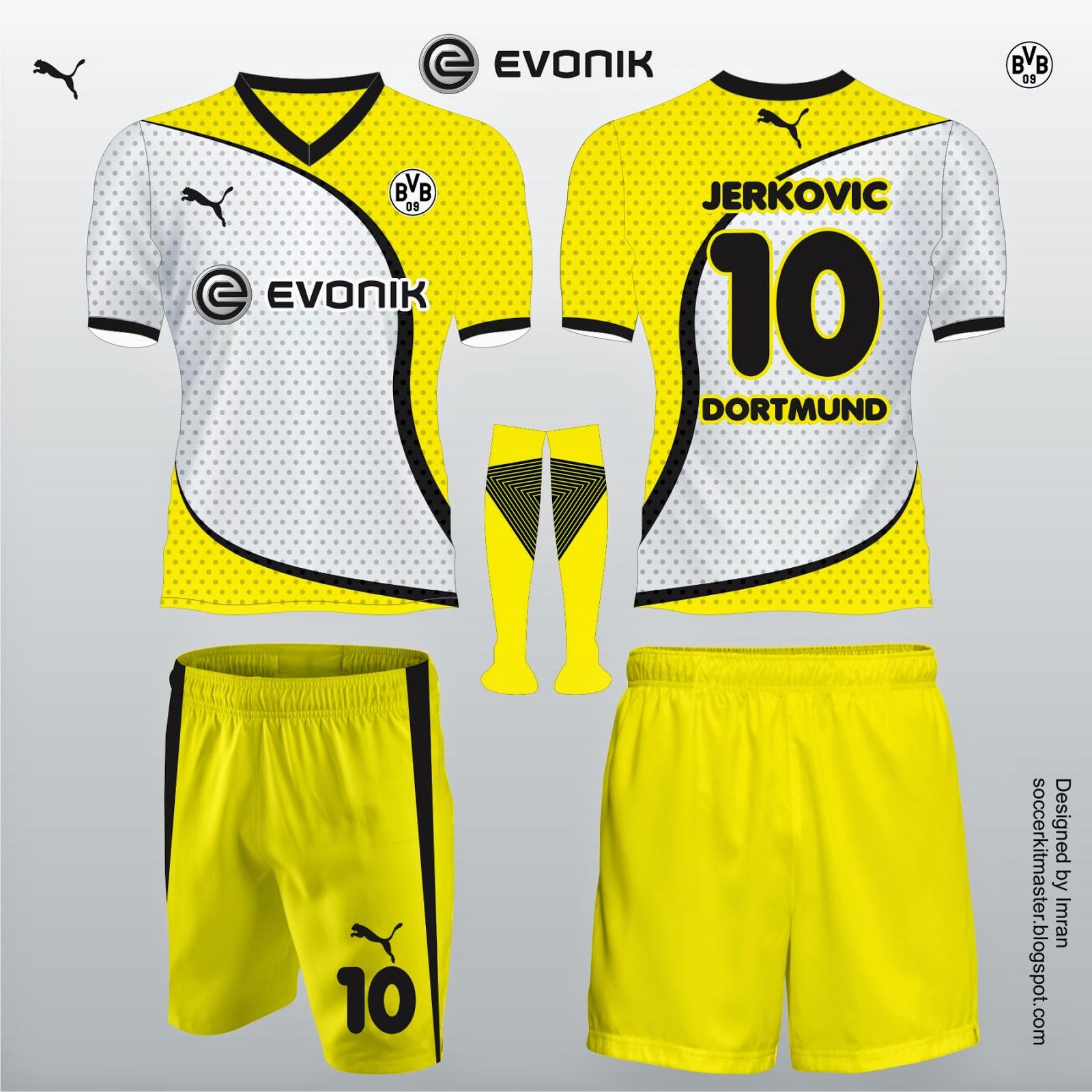 Football Kit Design Master New Evonik Football Kit Designs