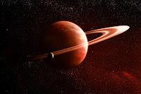 Planeta rojo universo