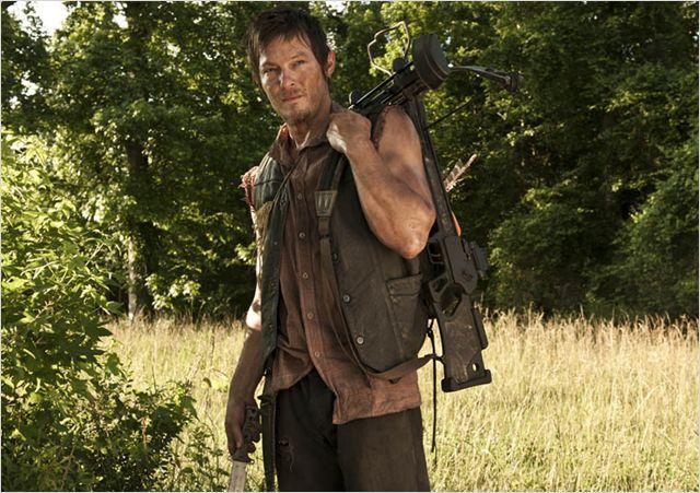 Daryl Dixon de The Walking Dead interpretado por Norman Reedus