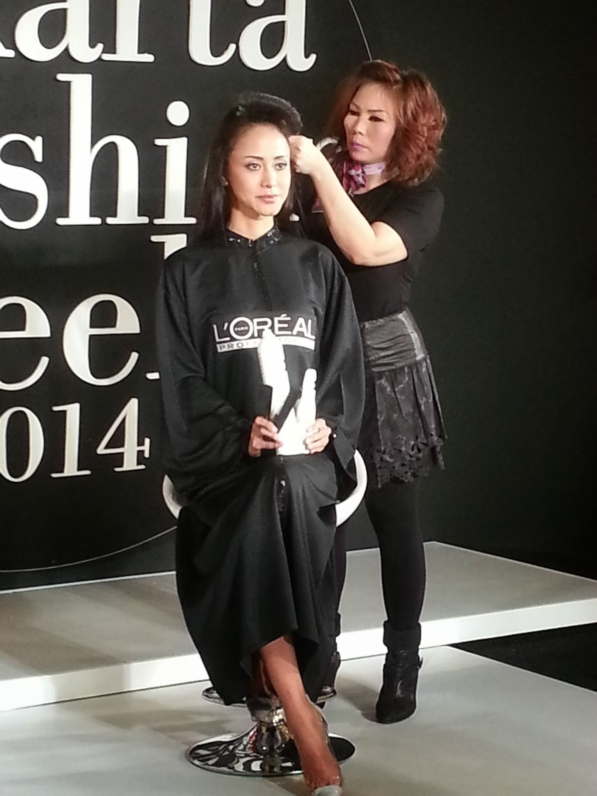 'Lucidity' outifts, here are the models with their runway hairstyle