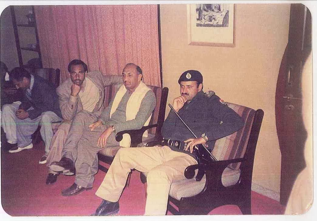 Raja Razaq Chairman Sarai Alamgir