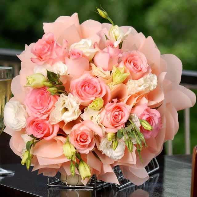 Quran O Hadith Blog قرآن و حدیث بلاگ Beautiful Flowers In Bucket Shape