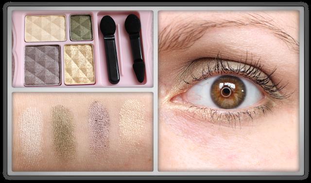 Etude House Cheek Blush Brush Dear My Blooming Eyes Palette #GR701 eye shadow review haul blog beauty