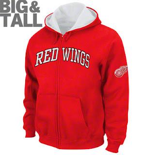 Red Wings Sweatshirt - NHL Apparel