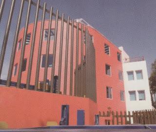 Fachada Universidad de la Tercera Edad Campus Mixcoac.