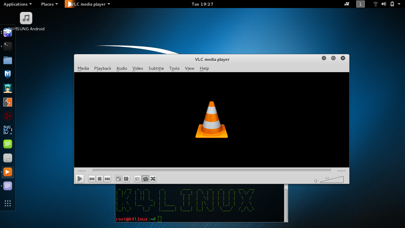 Kali Linux Tutorials - How to Install Vlc Player
