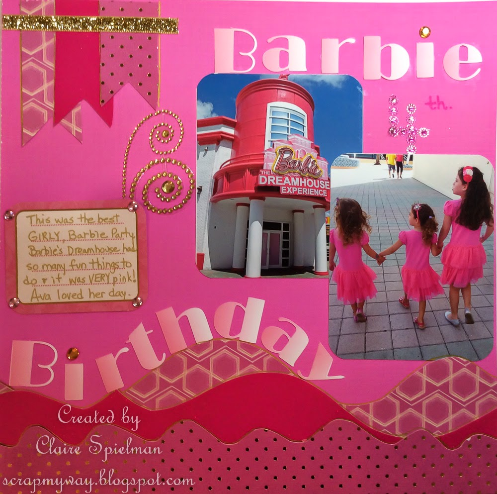 SCRAP MY WAY: Barbie Birthday Party