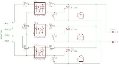 Etapa de potencia para órgano de luces sicodélicas con Arduino