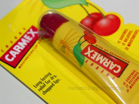 Carmex Cherry Tube.