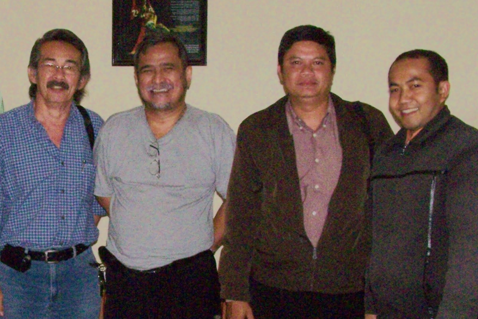 Bersama Slamet Raharjo di STSI Bandung.
