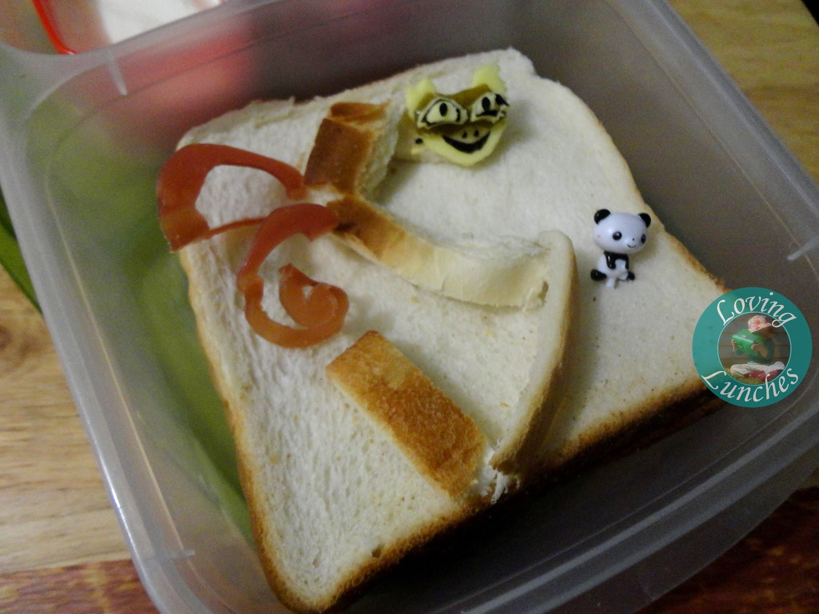 Loving Lunches: Kung Fu Panda Lunches of Awesomeness Po