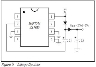 Voltage doubler MAX1044