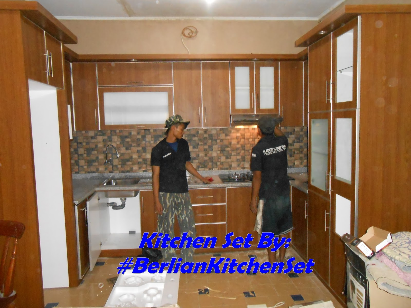 Berlian Kitchen Set Minimalis Murah Kitchen Set Model U