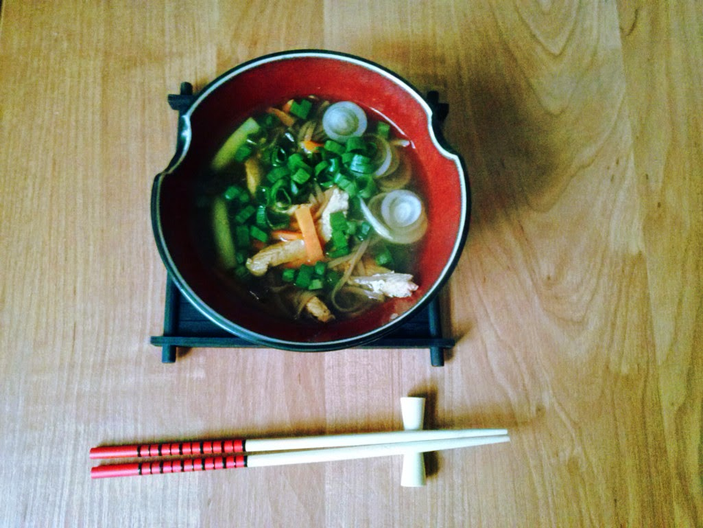 Turkey Soba Noodle Soup Recipe — Dishmaps
