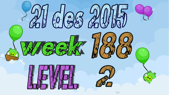 Angry Birds Friends Tournament level 2 Week 188