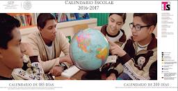 Calendario de 185 y 200 días, Ciclo Escolar 2016-2017