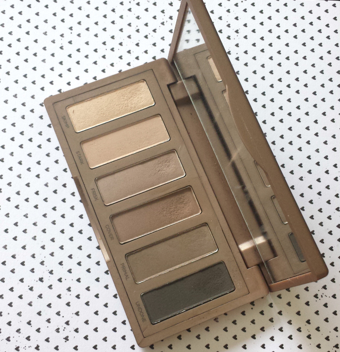 Urban Decay Naked2 Basics Palette Review & Swatches with