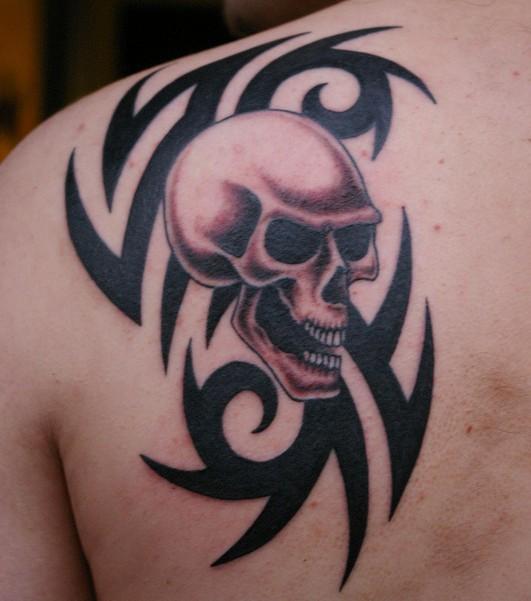 Skull Tattoo Drawings For Men Www Picsbud Com