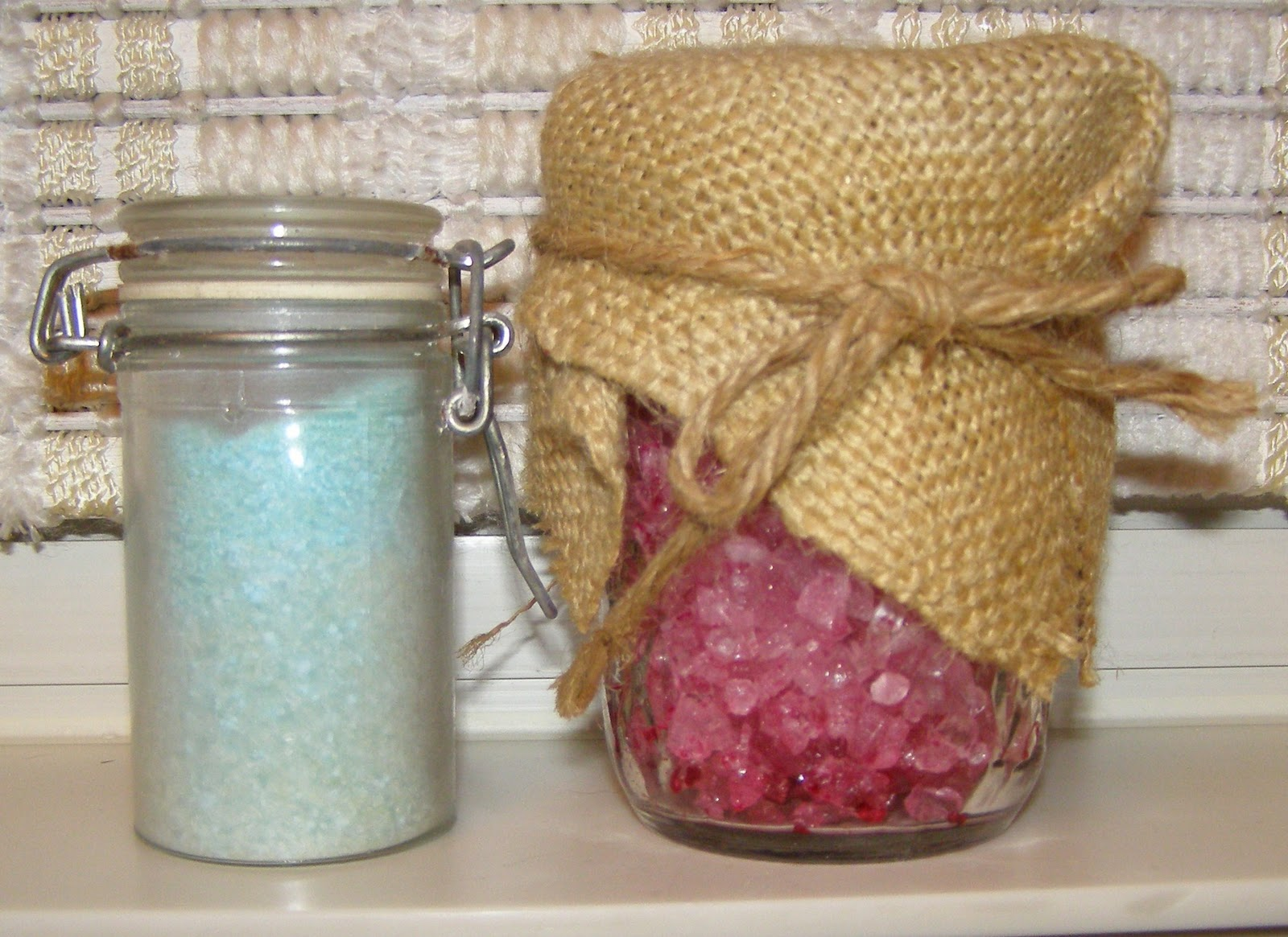 The Wiccan Life Homemade Yule Gifts Bath Salts