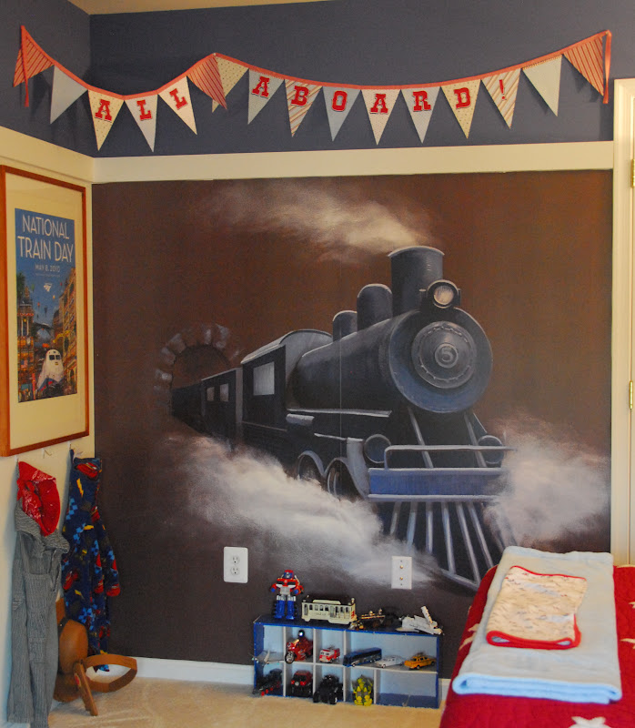 train bedroom for ozzy the im family