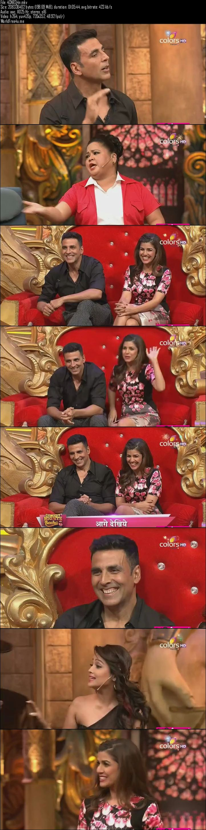 Screen Shot Of Comedy Nights Bachao 2nd January 2016 Episode 17 200MB Watch Online