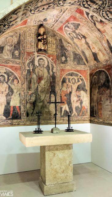 Capilla románica en Museu Maricel, Sitges