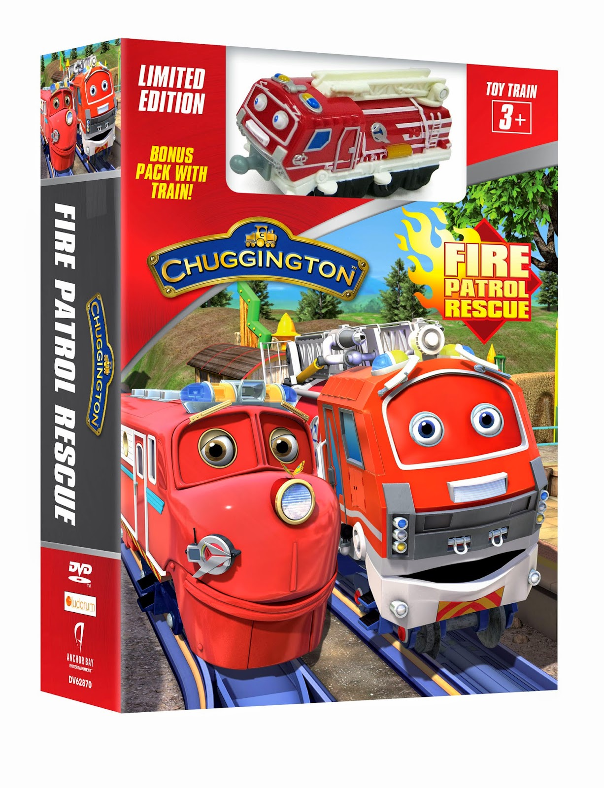 Katie\'s Nesting Spot: Chuggington Fire Patrol Rescue Day is March 31!