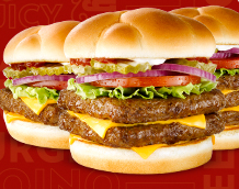 if you head over to the wendys facebook page and click on the tour of america tab you can print a coupon for a free daves hot n juicy single burger