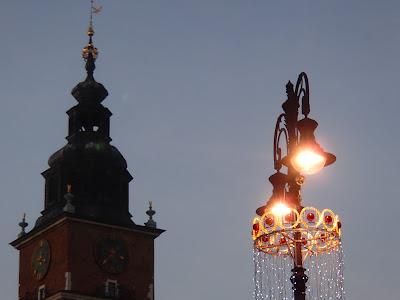 Kraków, Rynek Główny, targi bożonarodzeniowe, przed świętami w Krakowie