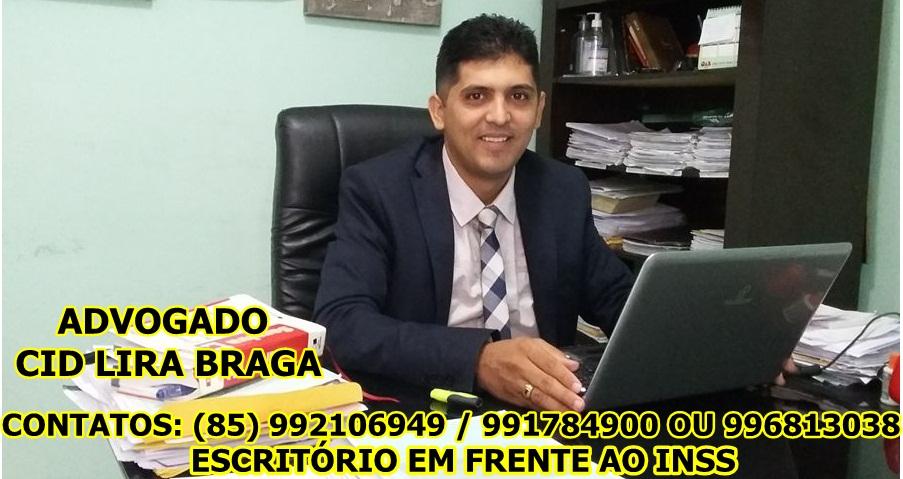 DR. CID LIRA BRAGA - ADVOGADO EM ITAPAJÉ