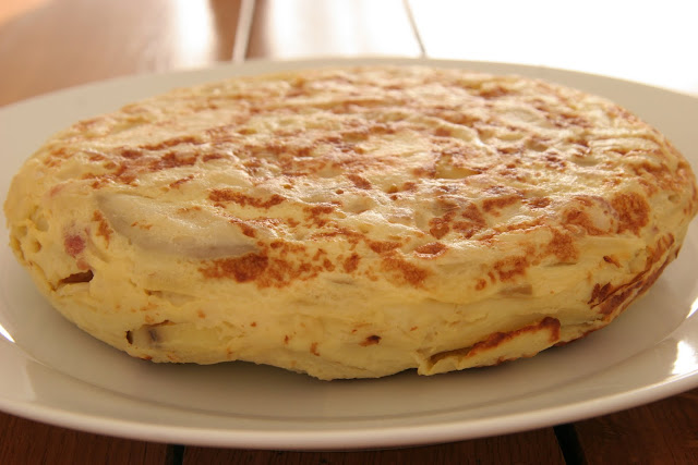 Spanish Tortilla Omelette with Bacon