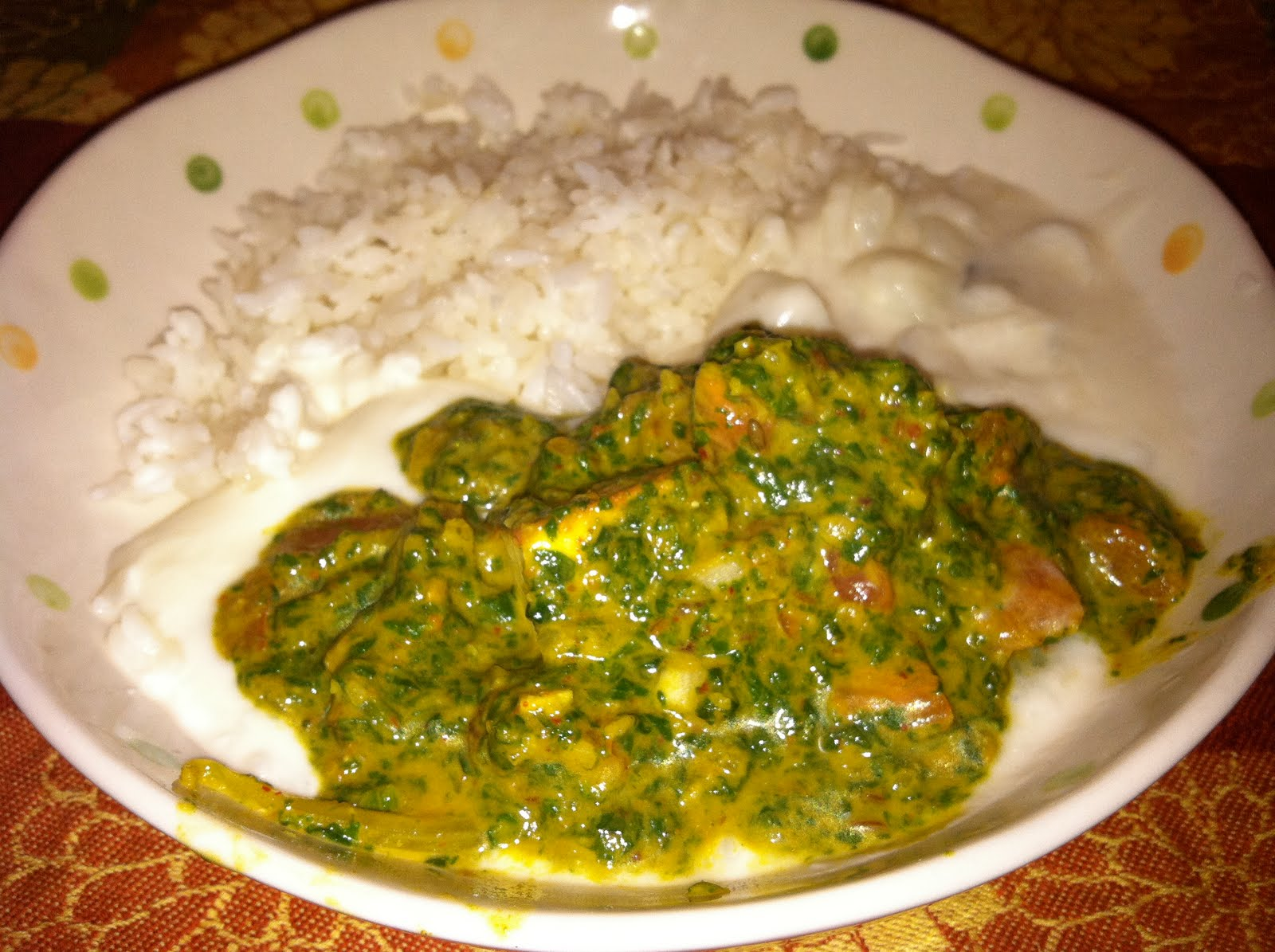 The Curried Cook: Saag Paneer