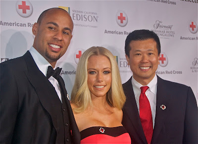 Hank Baskett, Kendra Wilkinson, and Electrolux's Jack Tuaong